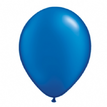 "Qualatex 11 inch Balloons - Pearl Sapphire Blue 11"" Balloons (Radiant 25pcs)"